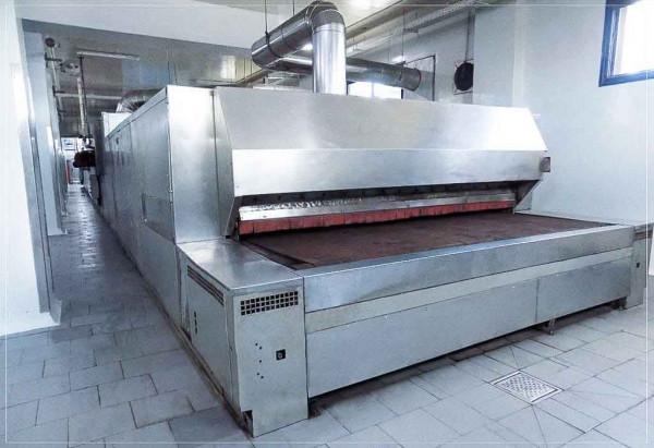 Kuchenanlage für gefüllte Schnitten