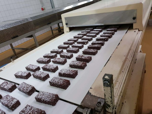 Sollich / Chocotech Foam wafer line