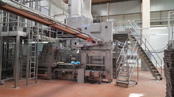 Used W.P. Haton, Bernier Toast Bread Line